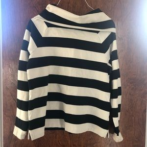 Vineyard Vines striped cowl neck sweater